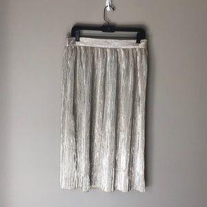 Zara metallic skirt